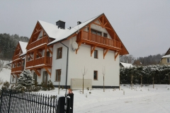 Apartamenty Homole - budynek i okolica