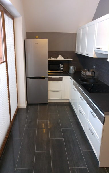 Apartamenty Homole. Apartament B5. Aneks kuchenny.